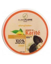 ALMAFLORE Beurre de Karité Orange