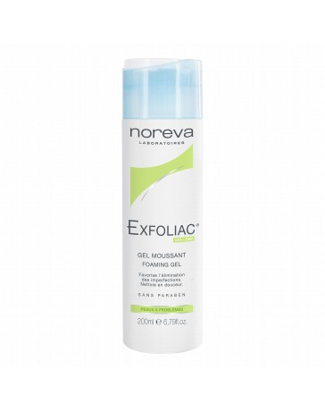 NOREVA EXFOLIAC GEL MOUSSANT 200ML