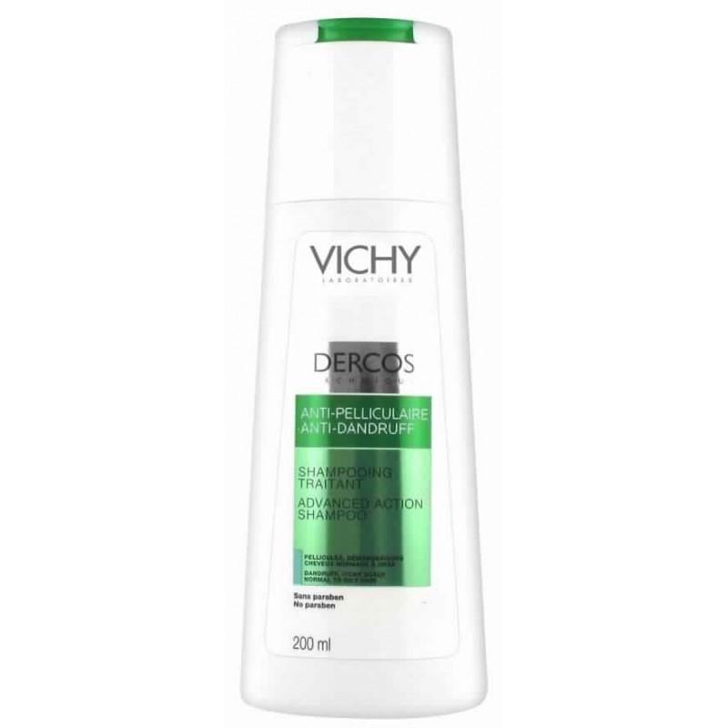 Shampooing Vichy Decos Anti-Pelliculaire traitant Cheveux normaux à gras