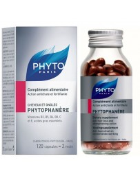 Phytophanere, Complément alimentaire Action antichute et fortifiante