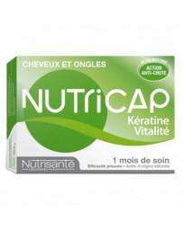 NUTRICAP KERATINE VITALITE CHEVEUX 30 CAPSULES
