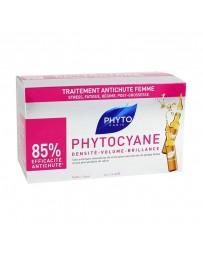 Phytocyane Soin Antichute Stimulateur de Croissance Femme 12x7.5ml