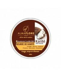 ALMAFLORE BEURRE DE KARITE NATUREL