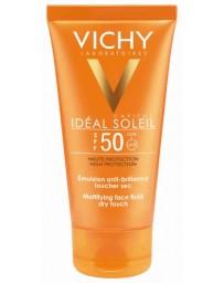Crème Solaire Toucher Sec SPF 50 Vichy Idéal Soleil