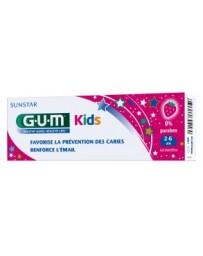 GUM DENTIFRICE KIDS FRAISE 2-6 ANS